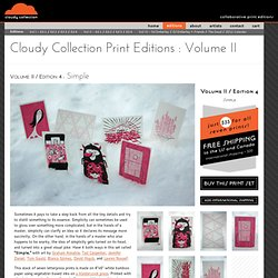 Cloudy Collection / Print Editions