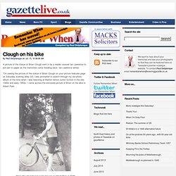Clough on his bike