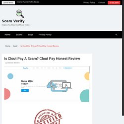 Review Of The Site CloutPay.co