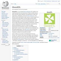 CloverETL