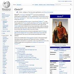 Clovis Ier 481-511