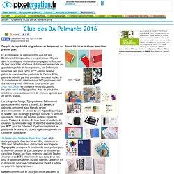 Club des DA Palmarès 2016