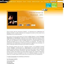 Club de lecture de Montreuil - 2013