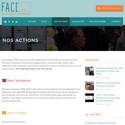 Club d'entreprises FACE Aude Nos actions - Club d'entreprises FACE Aude