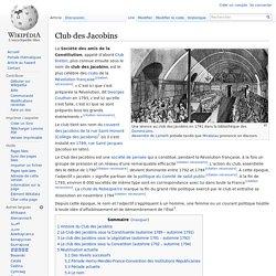 Club des Jacobins