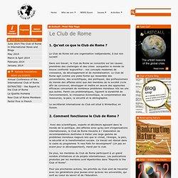 Le Club de Rome