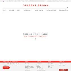 OB Sale Shop | Orlebar Brown