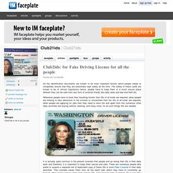 Club21ids provide the various benefits of US Novelty License in Today's World?
