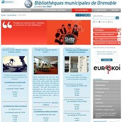 Bibliothèque Grenoble : Clubs de lecture