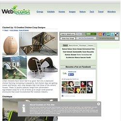Clucked Up: 13 Creative Chicken Coop Designs