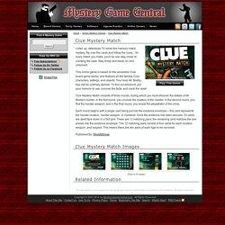 Clue Mystery Match