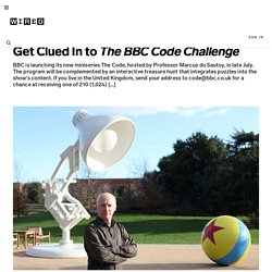 Get Clued In to The BBC Code Challenge | Magazine