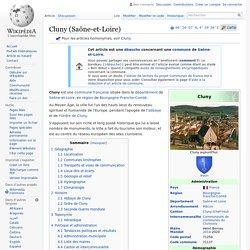 Cluny (Saône-et-Loire)