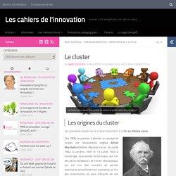 Le cluster - Les cahiers de l'innovation