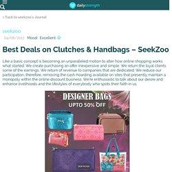 Best Deals on Clutches & Handbags – SeekZoo