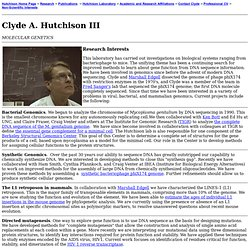 Clyde A. Hutchison III