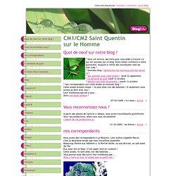 CM1/CM2 Saint Quentin sur le Homme