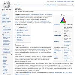 CMake - Wikipedia