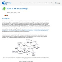 About Concept Maps & Software