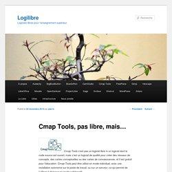 Cmap Tools, pas libre, mais…