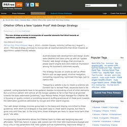 CMather Offers a New 'Update Proof' Web Design Strategy