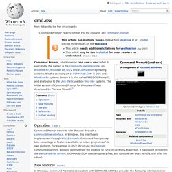 cmd.exe (wikipedia)