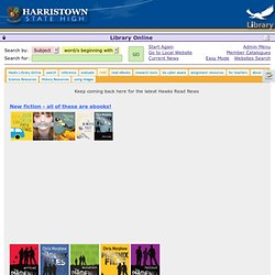 CMEWeb - Harristown State High School