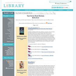 CMLibrary: Reader's Club: Multicultural Book Reviews
