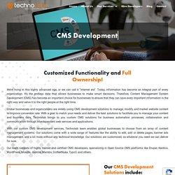 CMS Development - Techno Labs