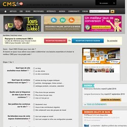 CMS.fr - Quel CMS choisir ?