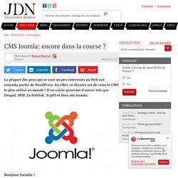 CMS Joomla: encore dans la course ?