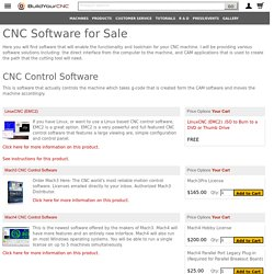 CNC Software for Sale