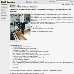 CNCLoisirs / Commande numérique amateur