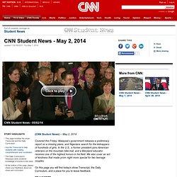 Student News - May 2, 2014