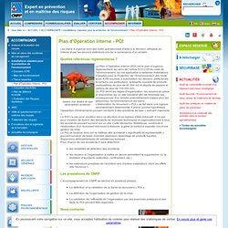Plan d'Opération Interne - POI