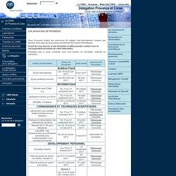 CNRS - Délégation Provence et Corse