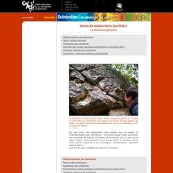 CNRS-Géomanips, subduction