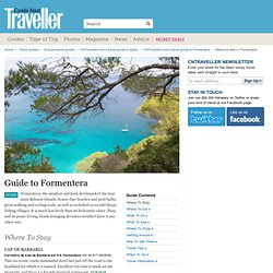 s guide to where to stay in Formentera