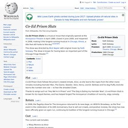 Co-Ed Prison Sluts - Wikipedia