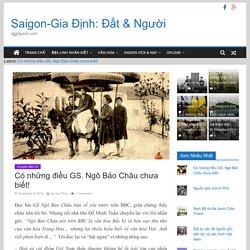 Có những điều GS. Ngô Bảo Châu chưa biết! - Saigon-Gia Định: Đất & Người