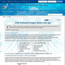 CO2 Artisanal longue duree avec gel