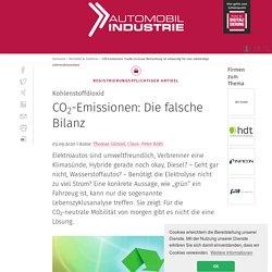 CO2-Emissionen: Die falsche Bilanz
