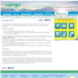 CO2logic - qui sommes-nous