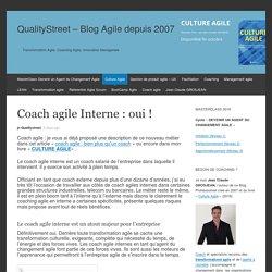 Coach agile Interne : oui !