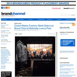 Coach Makes Fashion Week Debut as Brand Tries to Rekindle Luxury Past