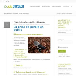 COACH JUNIOR Archives - Outils du Coach