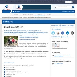 Coach sportif (H/F)