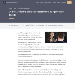 38 Best Coaching Tools and Assessments To Apply With Clients