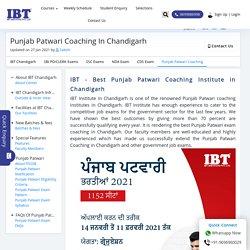 Punjab Patwari Coaching In Chandigarh - New Batches, Demo Available