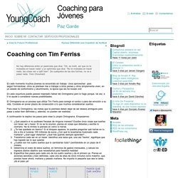Coaching con Tim Ferriss